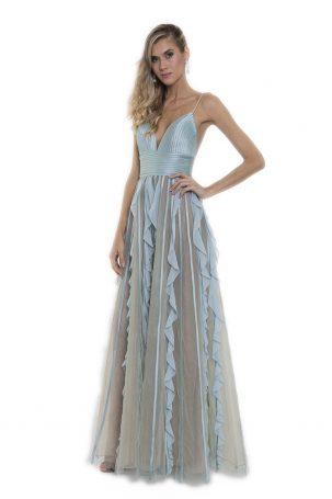 Vestido Chiara Azul