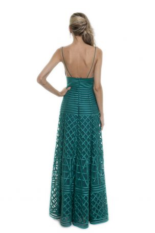 Vestido Charlotte Verde