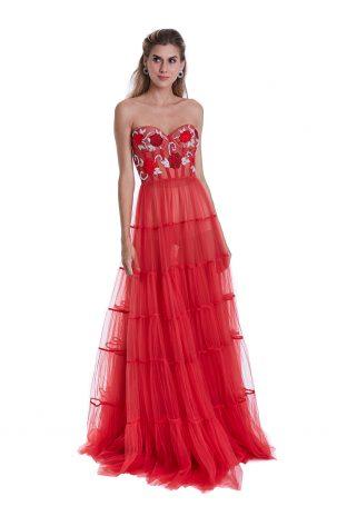 Vestido Maia Vermelho