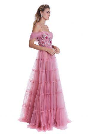 Vestido Maia Rosa