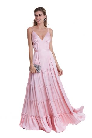 Vestido Anastácia Rosa