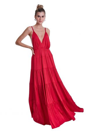Vestido Kala Vermelho
