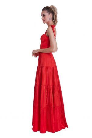 Vestido Marie Melancia