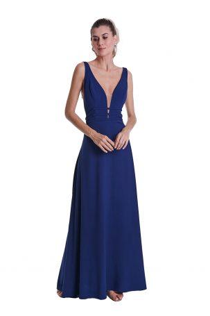 Vestido Dyane Azul Marinho