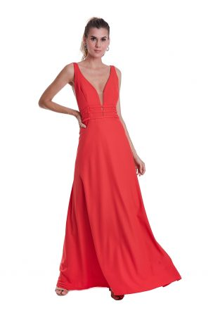 Vestido Dyane Coral